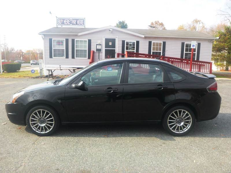 2010 Ford Focus for sale at Shepherd Auto Sales in Joppa MD