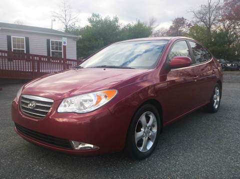 2008 Hyundai Elantra for sale at Shepherd Auto Sales in Joppa MD