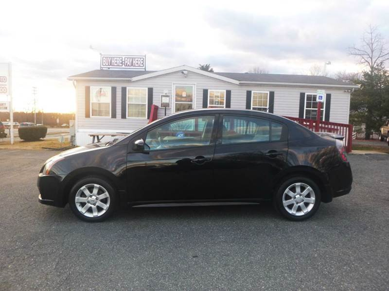 2012 Nissan Sentra for sale at Shepherd Auto Sales in Joppa MD