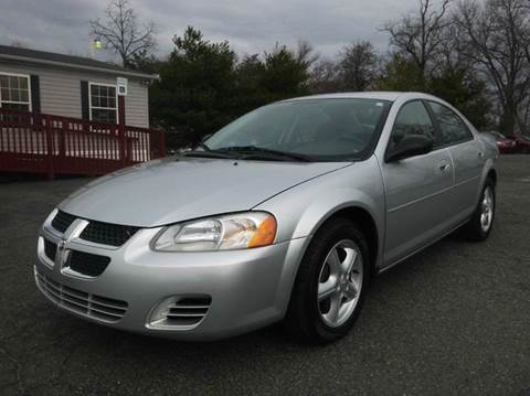 2006 Dodge Stratus for sale at Shepherd Auto Sales in Joppa MD