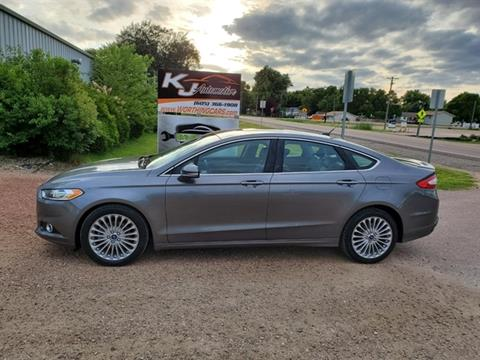 2014 Ford Fusion for sale in Worthing, SD