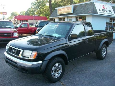2000 Nissan Frontier XE-V6 for sale at Southern Auto Sales Inc - Southern Auto & Cap Sales Inc in Hopewell VA