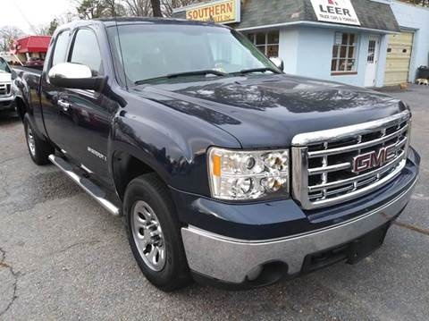 2008 GMC Sierra 1500 Work Truck for sale at Southern Auto Sales Inc - Southern Auto & Cap Sales Inc in Hopewell VA