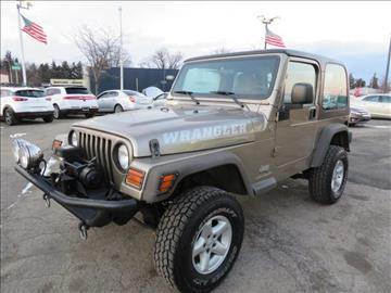 2006 Jeep Wrangler for sale in Wayne, MI