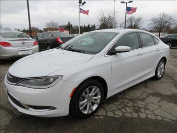 2015 Chrysler 200 for sale in Wayne, MI