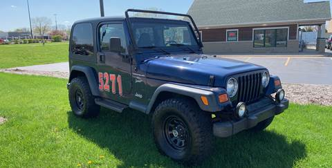 2001 Jeep Wrangler for sale in Rockford, IL