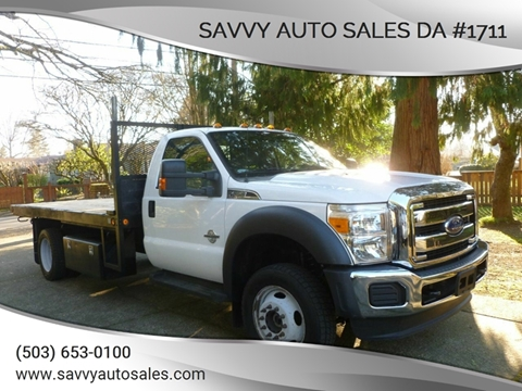 2015 Ford F-550 Super Duty for sale in Portland, OR