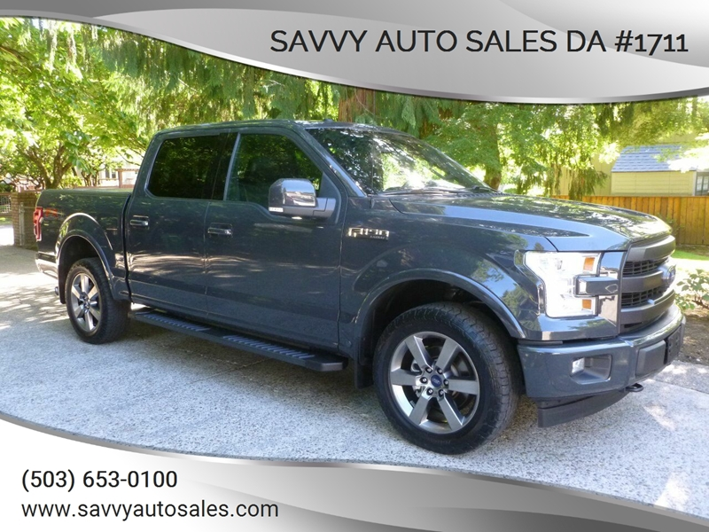 2017 Ford F 150 4x4 Lariat 4dr Supercrew 5 5 Ft Sb In