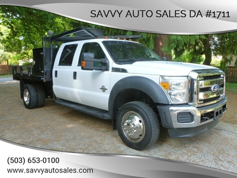 2011 Ford F-550 Super Duty for sale in Portland, OR