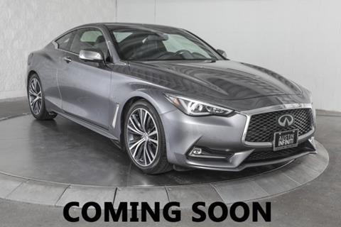 2018 Infiniti Q60 for sale in Austin, TX