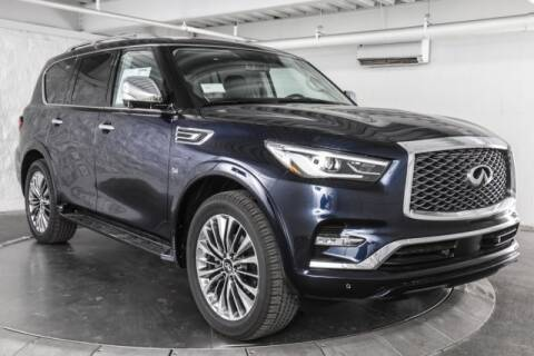 2020 Infiniti QX80 Luxe for sale at Continental Automotive Group Austin Infiniti in Austin TX