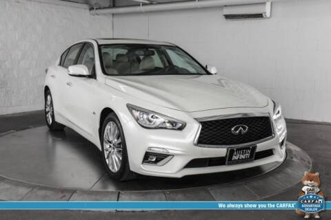 2019 Infiniti Q50 3.0T Luxe for sale at Continental Automotive Group Austin Infiniti in Austin TX
