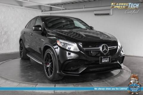 2018 Mercedes-Benz GLE AMG GLE 63 S for sale at Continental Automotive Group Austin Infiniti in Austin TX