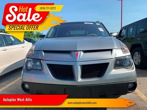 2003 Pontiac Aztek for sale in West Allis, WI