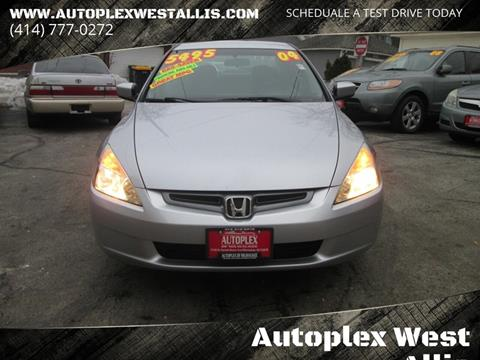 2004 Honda Accord for sale in West Allis, WI