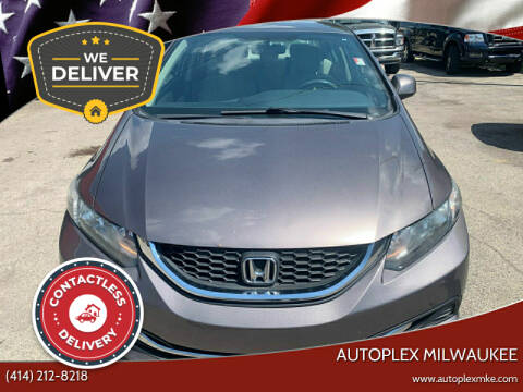 2013 Honda Civic for sale at Autoplex 2 in Milwaukee WI