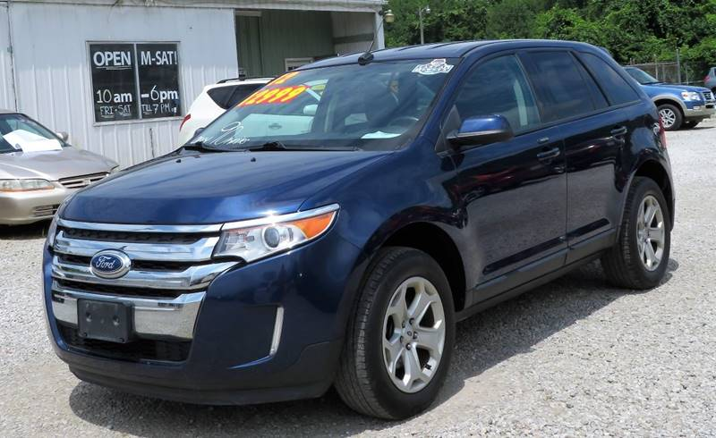 Ford Edge Awd Sel Dr Crossover Circleville Oh