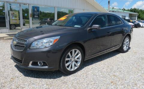 2013 Chevrolet Malibu for sale at Low Cost Cars in Circleville OH