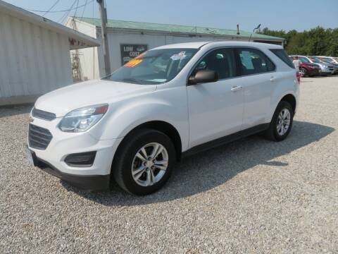 2017 Chevrolet Equinox for sale at Low Cost Cars in Circleville OH