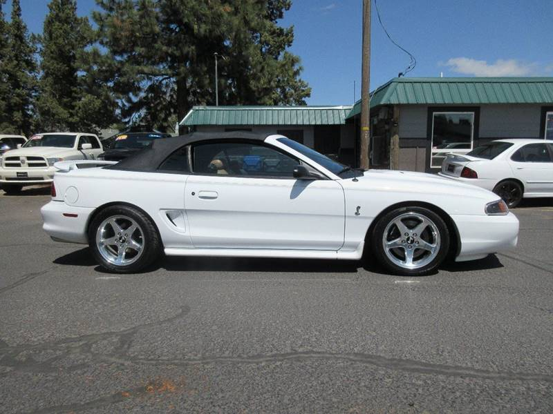 1998 Ford Mustang SVT Cobra 2dr Convertible - Bend OR