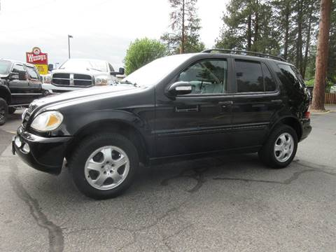 2002 Mercedes-Benz M-Class for sale at Wholesale Auto Connection LLC in Bend OR