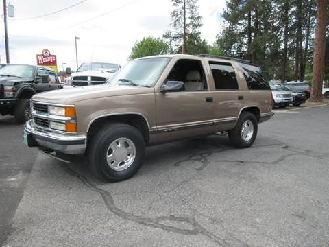 1996 Chevrolet Tahoe for sale at Wholesale Auto Connection LLC in Bend OR
