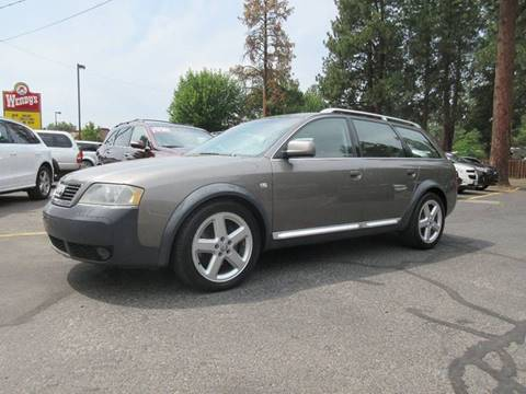2005 Audi Allroad Quattro for sale at Wholesale Auto Connection LLC in Bend OR