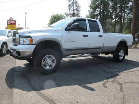 2003 Dodge Ram Pickup 2500 for sale at Wholesale Auto Connection LLC in Bend OR