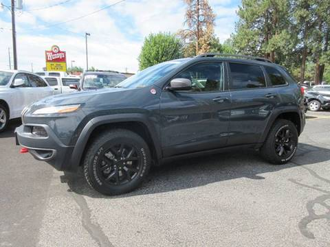 2016 Jeep Cherokee for sale at Wholesale Auto Connection LLC in Bend OR