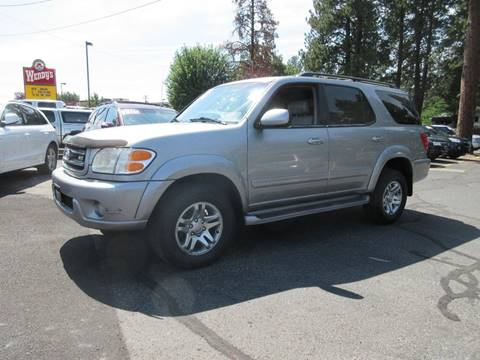 2003 Toyota Sequoia for sale at Wholesale Auto Connection LLC in Bend OR