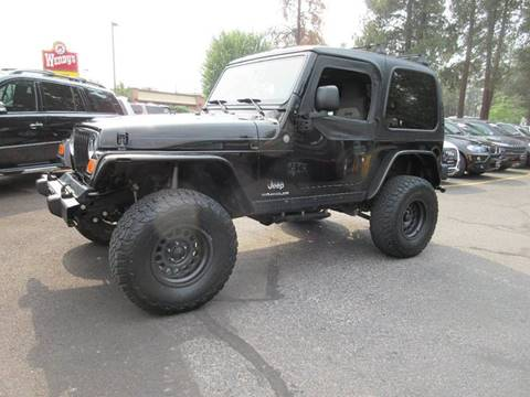 2004 Jeep Wrangler for sale at Wholesale Auto Connection LLC in Bend OR