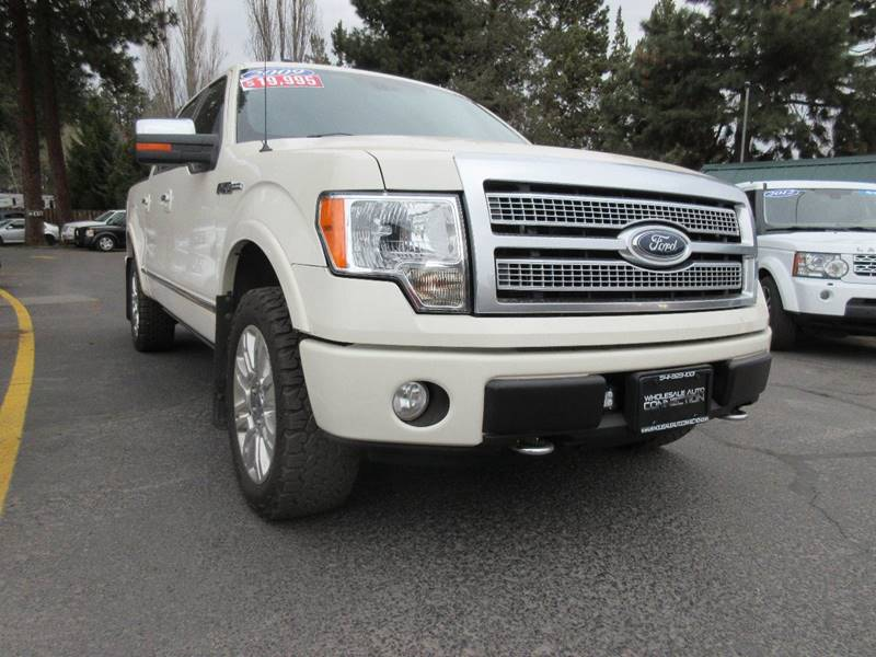 2009 Ford F-150 4x4 Platinum 4dr SuperCrew Styleside 5.5 ft. SB - Bend OR