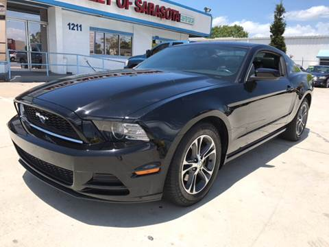 2013 Ford Mustang for sale at Auto Outlet of Sarasota in Sarasota FL