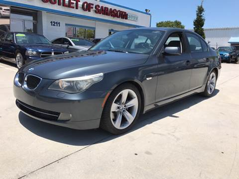 2008 BMW 5 Series for sale at Auto Outlet of Sarasota in Sarasota FL