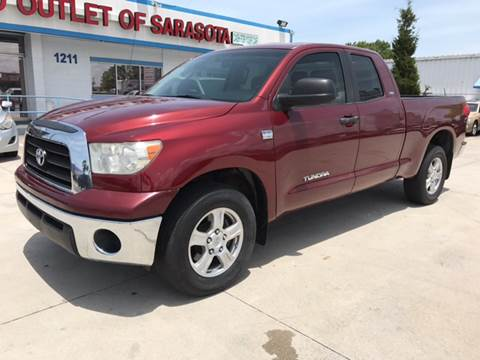 2008 Toyota Tundra for sale at Auto Outlet of Sarasota in Sarasota FL