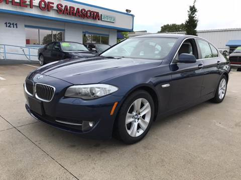 2013 BMW 5 Series for sale at Auto Outlet of Sarasota in Sarasota FL