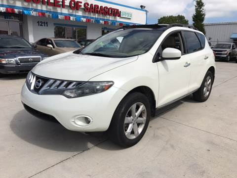 2010 Nissan Murano for sale at Auto Outlet of Sarasota in Sarasota FL