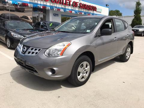 2011 Nissan Rogue for sale at Auto Outlet of Sarasota in Sarasota FL