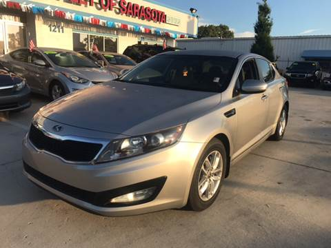 2012 Kia Optima for sale at Auto Outlet of Sarasota in Sarasota FL