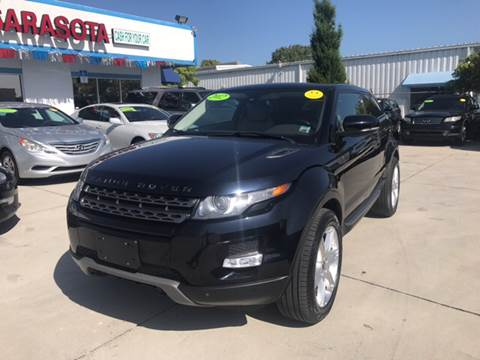 2012 Land Rover Range Rover Evoque Coupe for sale in Sarasota, FL
