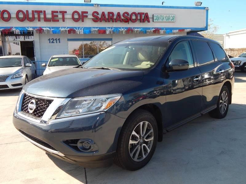 2013 Nissan Pathfinder For Sale At Auto Outlet Of Sarasota In Sarasota FL