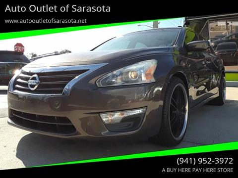 2013 Nissan Altima for sale at Auto Outlet of Sarasota in Sarasota FL