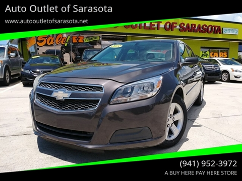 2013 Chevrolet Malibu for sale at Auto Outlet of Sarasota in Sarasota FL