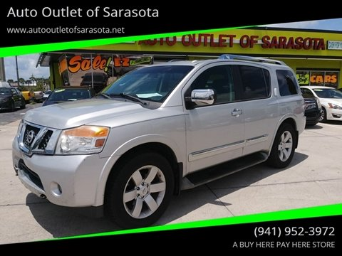 2011 Nissan Armada for sale at Auto Outlet of Sarasota in Sarasota FL