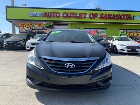 2014 Hyundai Sonata for sale at Auto Outlet of Sarasota in Sarasota FL