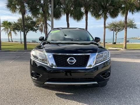 2014 Nissan Pathfinder for sale at Auto Outlet of Sarasota in Sarasota FL