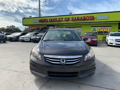 2011 Honda Accord for sale at Auto Outlet of Sarasota in Sarasota FL