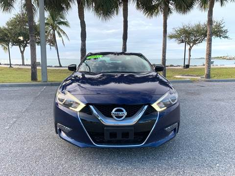 2017 Nissan Maxima for sale at Auto Outlet of Sarasota in Sarasota FL