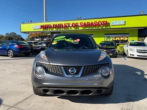 2013 Nissan JUKE for sale at Auto Outlet of Sarasota in Sarasota FL