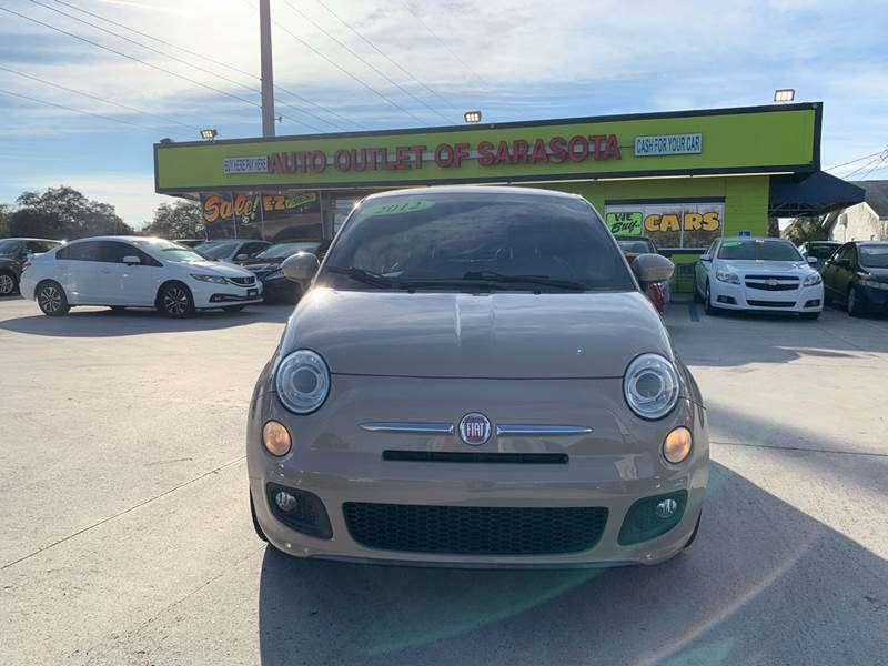 2012 FIAT 500 for sale at Auto Outlet of Sarasota in Sarasota FL